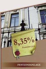 Festzinsanlage 8,35% p.a.