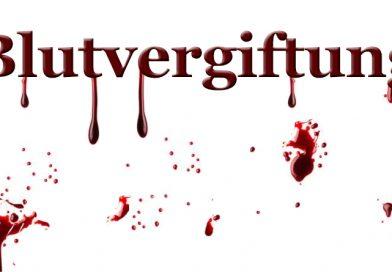 wie gefährlich ist Blutvergiftung ist gefährlicher als angenommen Blutspritzer Bluttropfen vergiftetes Blut rot Blutrot Blutleer