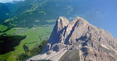 Kitzbühel in Österreich Alpen Wanderwege Gebirge